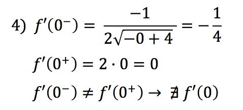 derivable en cero