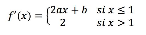 derivada parametros