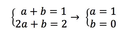 sistema ecuaciones