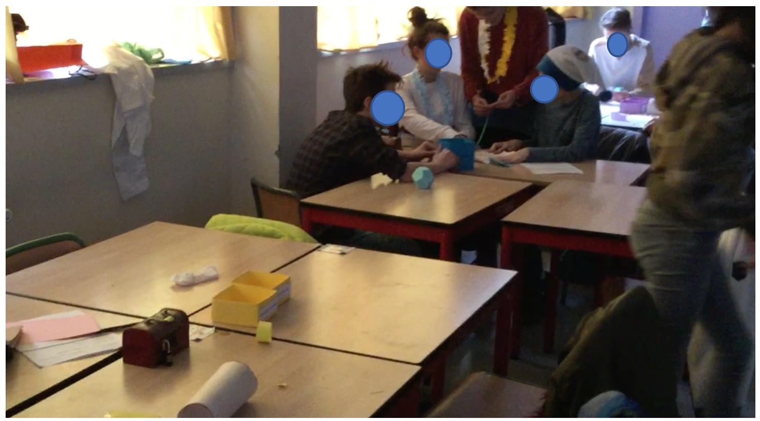 Escape room, organización del aula