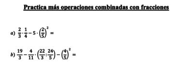 Ficha de operaciones