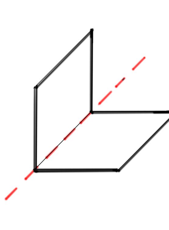 dos planos formando una recta