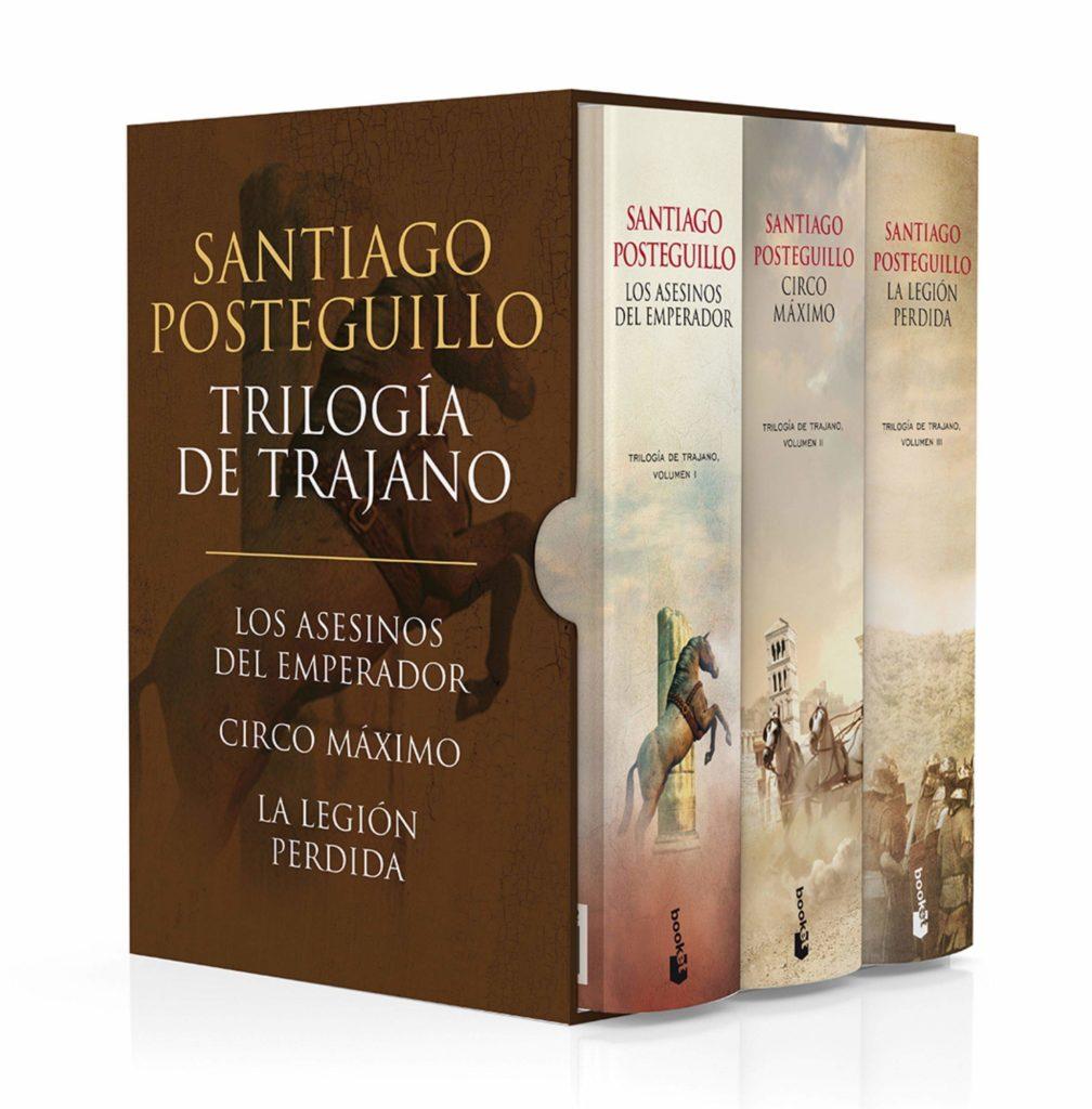 libros de la trilogía de trajano