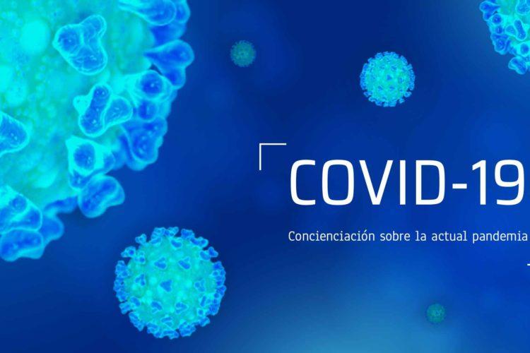Concienciación sobre la pandemia de la COVID-19. Inicio de curso.